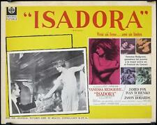 L356 LOVES OF ISADORA Mexican Lobby C '69 images of sexy dancer Vanessa Redgrave