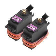 2x MG996R 55g Metal Gear Torque Digital Servo 15KG for RC Helicopter Car Robot