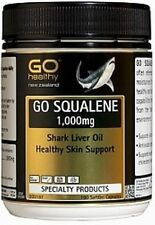 Go Healthy Squalene Shark Liver Oil Capsules ( 180 ) FREE SHIPPING