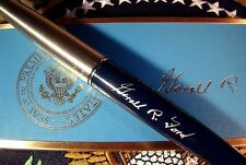 President Gerald R. Ford Blue and Silver Parker Presidential Pen - Bill Signer
