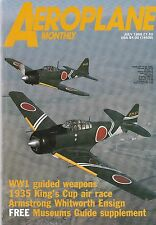 Aero Plane Monthly July 1988 - Armstrong Whitworth Apollo - DH 89 Dragon Rapide
