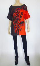 Yoana Baraschi Silk Tunic Mini Dress Size L