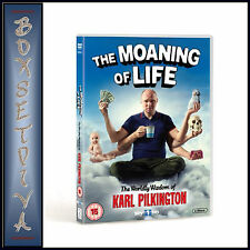 THE MOANING OF LIFE - SERIES 1 - Karl Pilkington   **BRAND NEW DVD **