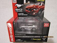 AUTOWORLD XTRACTION ULTRA-G 50 YEARS  MUSTANG 2015 FORD MUSTANG GT SILVER