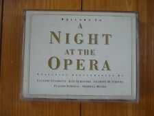 Welcome to a Night at the Opera Luciano Pavarotti te Kanawa Placido Domingo MC