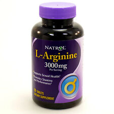 L-Arginine 3000mg By Natrol - 90 Tablets