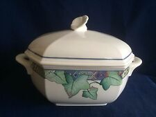 Villeroy & Boch Pasadena octagonal lidded vegetable tureen (chips under lid)