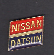 RARE VINTAGE NISSAN DATSUN LAPEL Jacket PIN Badge Classic CAR Automobile Auto