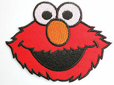 ELMO Iron On Sew On Cartoon Kids Fun Muppets Embroidered Badge Patch 3.4""