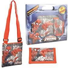 SPIDER-MAN Shoulder Bag & Wallet Gift Set for boys