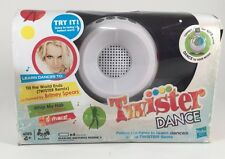 Hasbro Twister Dance Game w/ MP3 Speaker Play iPod Dances Britney Spears + BONUS
