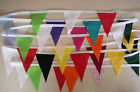 Multi coloured MINI Fabric Bunting, Party / Bedroom / Decoration 5mt
