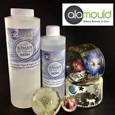 Resin. Alamould Ultimate Clear Jewelry Grade Resin. 24 oz Kit. Made In USA