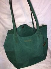 Michael Kors Suede Ashbury XL Hobo Tote Bag - Gooseberry Green- like new