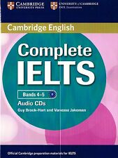 Cambridge English COMPLETE IELTS Bands 4-5 AUDIO CDs I Brook-Hart Jakeman @New@