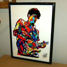 John Mayer, Guitar Player, Blues, Rock, Singer, Acoustic, 18x24 POSTER w/COA C