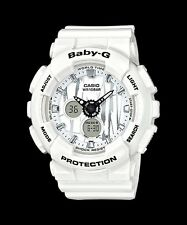 BA-120SP-7A White Casio Baby-G Ladies Watches Analog Digital Resin Band New