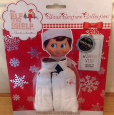 Elf On The Shelf Clothes - Winter Vest.  Limited Edition
