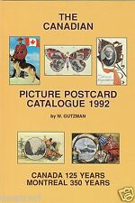 """The Canadian Picture Postcard Catalogue -  Latest Edition! SALE!"