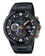 CASIO EDIFICE Chronograph EFR544BK-1A9 Black Ion Plated 100m WR