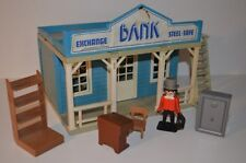 8536 playmobil bank 3422 western klicky