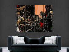 ZOMBIES TV FILM CINEMA MOVIE HORROR  COMIC BOOK  ART PICTURE PRINT LARGE  HUGE