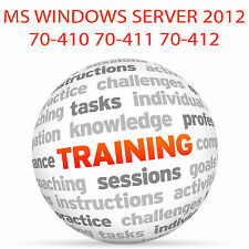 MS Windows Server 2012 70-410 70-411 70-412 - formazione VIDEO TUTORIAL DVD