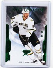 11-12 2011-12 ARTIFACTS MIKE MODANO LEGENDS EMERALD PARALLEL /99 90 STARS