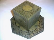 Hellraiser Puzzle Box  With A Round Top And Antique Gold Finish..