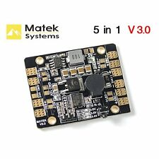 Matek PDB BEC-5V/3A LED Lighting Control Tracker Low Voltage Alarm LED & POWER