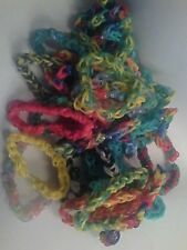 Custom loom bracelets any pattern design 20 assorted