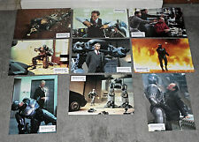 ROBOCOP original RARE 1987 set of 18 lobby cards PETER WELLER