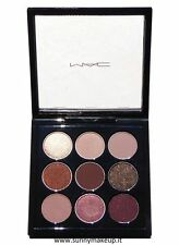 MAC EYE SHADOW X 9: BURGUNDY TIMES NINE Eyeshadow Palette New Genuine