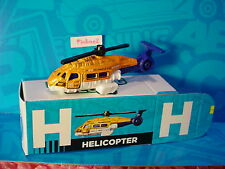 """2016 Matchbox Learning Blox """"H"""" HELICOPTER~SEA HUNTER☆Orange/White;RESCUE☆box"""