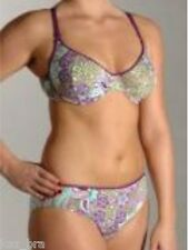 Anita Edith Purple Underwired Bikini Set UK 10 for F cups New Swimwear RRP £69