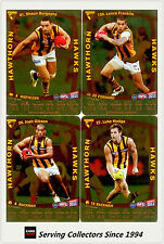 2011 AFL Teamcoach Trading Cards Gold Parallel Team Set Hawthorn (11)