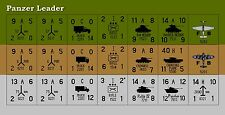 Avalon Hill's Panzer Leader Replacement Counters – Die-cut