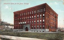 Illinois postcard Chicago, Industrial Home for the Blind ca 1909