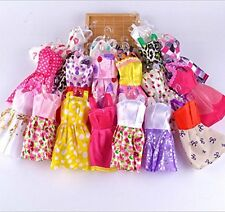 US 10 PCS/Lot Party Daily Wear Dress Outfits Clothes for Barbie Dolls Toy Random