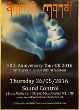 ANIMA MUNDI UK Tour Gig Promo Poster 2016 I Me Myself