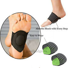 2pcs Arch Support Cushion Shock Absorber All Day Relief Flat Pain Feet Foot GD