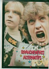 AC/DC screaming Angus  magazine PHOTO/Poster/clipping 11x8 inches