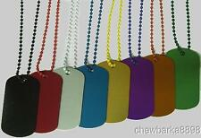 "100 colored 30"" bead chain #3 Ball Ballchain Chains Only tags in store USA made"