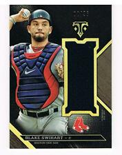BLAKE SWIHART 2016 TOPPS TRIPLE THREADS PATCH RELIC 2/36 BOSTON RED SOX