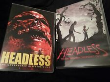 HEADLESS on DVD! Unrated Extreme Underground Horror Movie!