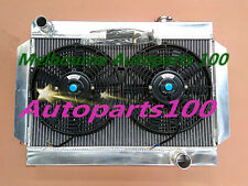 Radiator and fans for Holden Kingswood HQ HJ HX HZ /Torana LH LX V8 Chevy engine