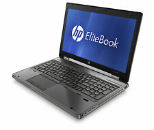 HP EliteBook Workstation 8760w, Core i7-2820M 2.3GHz 16GB 180GB SSD nVidia Win 7