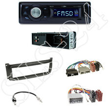 Caliber rmd021 radio del coche + Chrysler/Dodge diafragma Black + adaptador ISO set