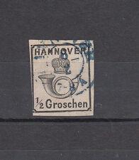 Altdeutschland, Hannover Mich.17 y, BPP geprüft,gestempelt, siehe Scan