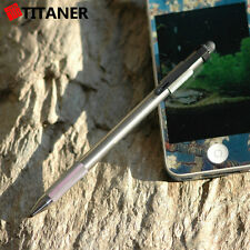 Titaner Titanium Tactical Touchscreen Pen Survival Window Braker Emergency Tool